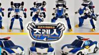 韩国Tobot变形金刚侏罗纪恐龙警察进化变形机甲玩具车