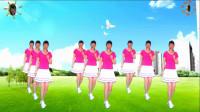 阳光美梅原创广场舞【DJ灰姑娘】动感32步-背面演示-编舞:美梅