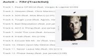 Avicii的专辑TIM12个歌曲现场收听MV-音乐-高清完整