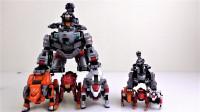 韩国超大型和MINI型Metalions狮子兽型合体机器人变形机甲玩具