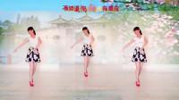 阳光美梅原创广场舞【天在下雨我在想你】抒情舞蹈-编舞:美梅