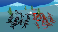 火柴人战争:排排队玩游戏?