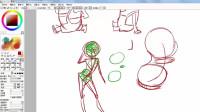 [Q版漫画人物视频教程_漫画师必备基础理论13身体的变形(二)