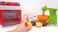 亲子食玩用培乐多Play Doh彩泥烹饪披萨和蛋糕玩具