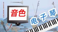 《弹起心爱的土琵琶》《驼铃》电子琴演奏,二胡和柳琴音色应用演示