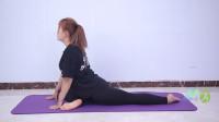 瑜伽天鹅式,一个会让你变优雅的排毒开髋体式