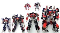 6个电影版变形金刚大师级汽车人擎天柱机器人变形机甲玩具