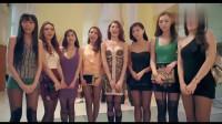 美女带八个女模特出来,个个绝色无双,可富二代喜好就不一样