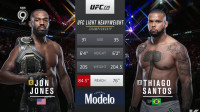 5.UFC 239综合格斗轻重量级冠军Jon Jones艰难战胜挑战者Thiago Santos_1