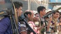 关注也门局势 多国联军拦截一架胡塞武装无人机 北京您早 20190710 高清