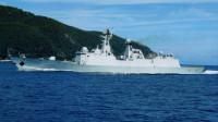 两艘军舰悬挂红旗,穿越日本战略核心区域,自卫队飞机紧急升空