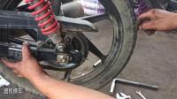 摩托车链盘更换技巧你知道多少;修车师傅教你重要的几个安装技巧