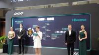 海信全球首台叠屏电视亮相2019UDE 展现高端品牌实力