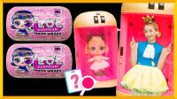 粉红公主小妹!超可爱的LOL娃娃开箱 | 爱丽和故事  EllieAndStory