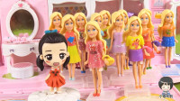 23 芭比系列奇趣蛋第12款 粉色连衣裙芭比公主