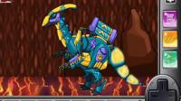 组装机械剑角龙 组装机械恐龙 亲子益智游戏