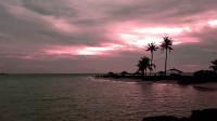 【原创】漫步拖尾沙滩  图鲁斯杜岛傍晚 马尔代夫居民岛一游