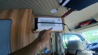 新手司机拆房车两天,终于把微波炉安装上了!