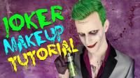 国外小伙仿妆秀:将自己美妆打扮成了小丑·!