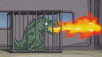搞笑吃鸡动画:沙博士把香肠变成怪兽,这样的无用发明还想骗达达的经费