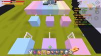 迷你世界:跑酷地图出现神秘玩家居然可以在天空自由飞翔