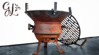 翻新一个废旧的烤炉,又省了上百块,拿到河边烧烤也是一种享受