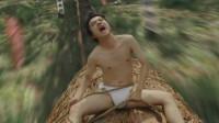神秘的祭祀仪式,竟是一群穿丁字裤的男人,骑着大树飞下山!