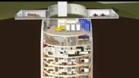奇怪的公寓,建在地底下53米深!