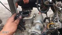 摩托车发动机不会转;启动杆蹬不动;你知道怎么修理吗?师傅教你