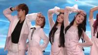 火箭少女101新歌《风》首唱,粉色队服超可爱超萌,全场沸腾!