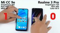 骁龙665性能如何?小米CC9e挑战Realme 3 Pro