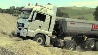德国打造的黑科技,让卡车后驱变四驱,比传统四驱更省油