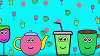 把可乐杯 茶水杯等杯子涂上喜欢的颜色
