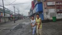 阿东带大家看看宁波城中村藕缆桥 这里没有行道树只有电线杆