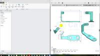Creo5.0建模练习-01-骨架折弯-P32(第一期)