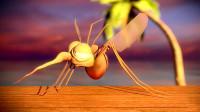 蚊子吸血时不能拍死,放大五十倍后看才明白,网友:不敢打蚊子了