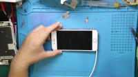 iPhone6s能开机屏幕不显示,排除屏幕问题,测试主板几个关键部位
