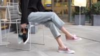 时尚高跟鞋,做工非常精致, 真皮面料有很好的质感