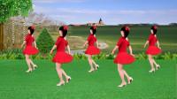 益馨广场舞《山丹丹花开红艳艳》歌好听,舞好看,附分解教学