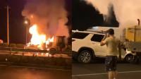 肇事车司机被指在事故现场打电话不救人 网友炸锅