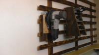 老外自制工具收纳支架,成品虽然简约,收纳一屋子零件绰绰有余!