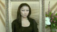 当女子将自己美妆打扮成蒙娜丽莎,你觉得有几分相似?
