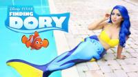 童话故事仿妆秀:这副海底总动员妆容你觉得好看吗?