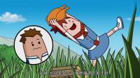 搞笑吃鸡动画:萌妹一个人挺进决赛圈还吃鸡了,真是伏地魔界的鬼才啊!
