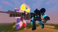 《迪迦奥特曼》自制3D特效创意动画!迪迦vs高达—我的世界版