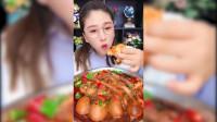 【深夜食堂】丹姐麻辣龙虾尾吃播,大口吃海鲜感觉真爽