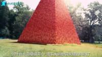 小哥用100000个杯子搭成巨型金字塔,会玩,用这种方式让其崩坍!