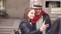 冒险雷探长:中国小伙来到美女之国白俄罗斯,在美术馆门口被美女围观合影