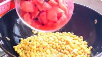 活了30年,才知道西瓜倒进黄豆里原来这么好吃,比肉香,真馋人