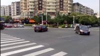 摩托车、电动车乱闯红灯(泰山路和珠江南路交汇处)
